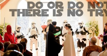 Do or do not there is no try - Star Wars Wedding