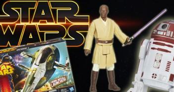 Lite olika Star Wars-leksaker