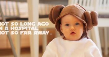 Leia fyller 1 år