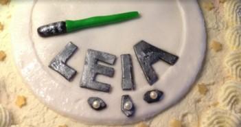 Leias första tårta