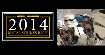 Stormtroopers reading Metal Hammer