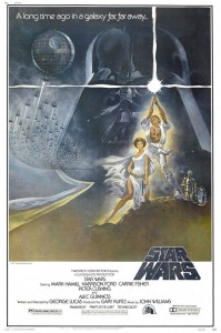 Star Wars Episode 4 Movie Poster by Tom Jung