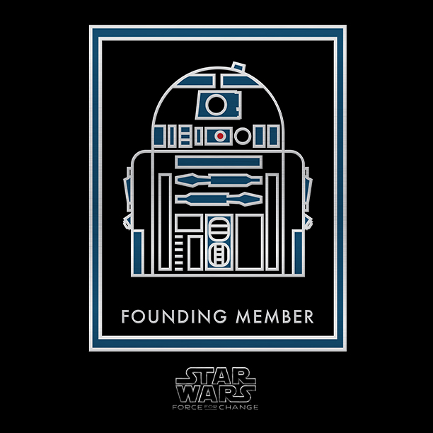 Star Wars Force For Change - Reward Badge R2D2
