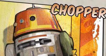 Droiden Chopper Star Wars Rebels