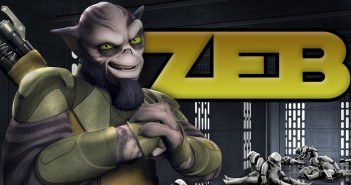 """Zeb """"Tough Guy"""" - Star Wars Rebels"""