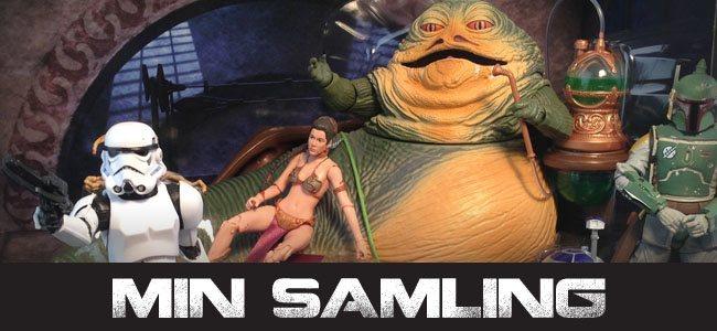 Min Star Wars-samling