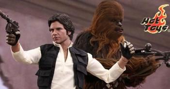Han och Chewie - Hot Toys