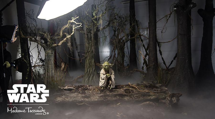 Star Wars  på Madame Tussauds - Yoda Dagobah