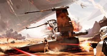 Battlefield - Konceptskisser - Slaget om Jakku