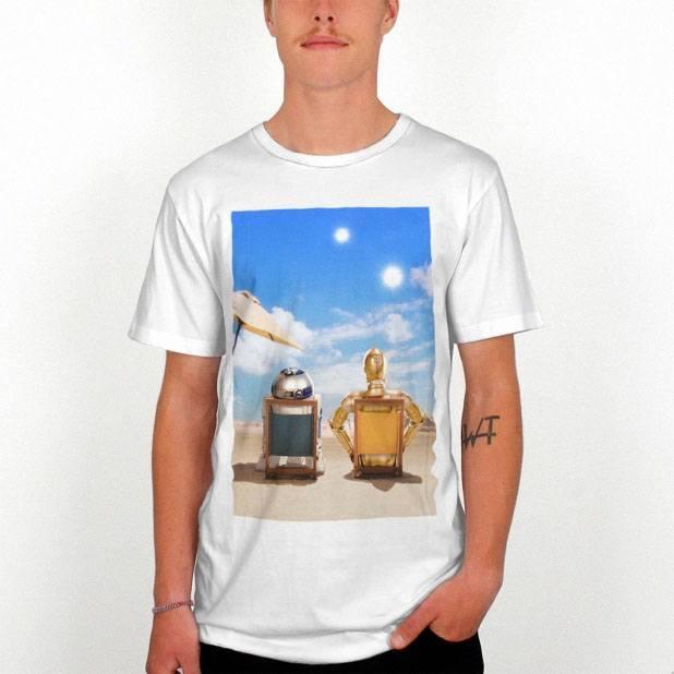 C-3PO & R2-D2 - Tshirt Store Star Wars