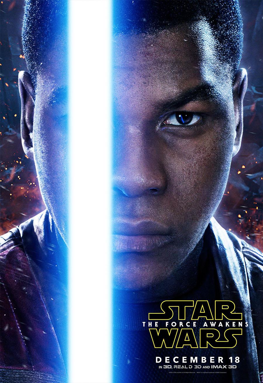 Finn - The Force Awakens Poster
