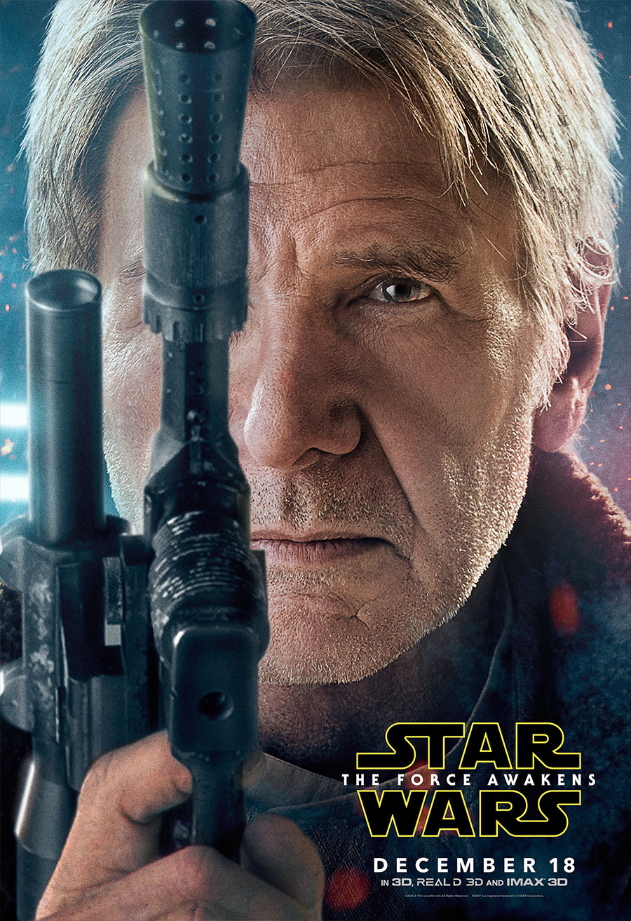 Han Solo - The Force Awakens Poster