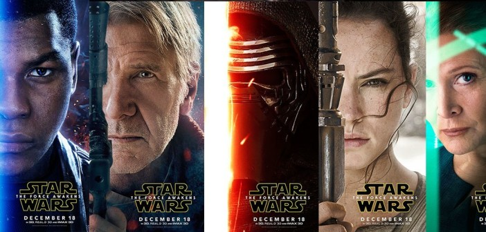 Nya posters till The Force Awakens