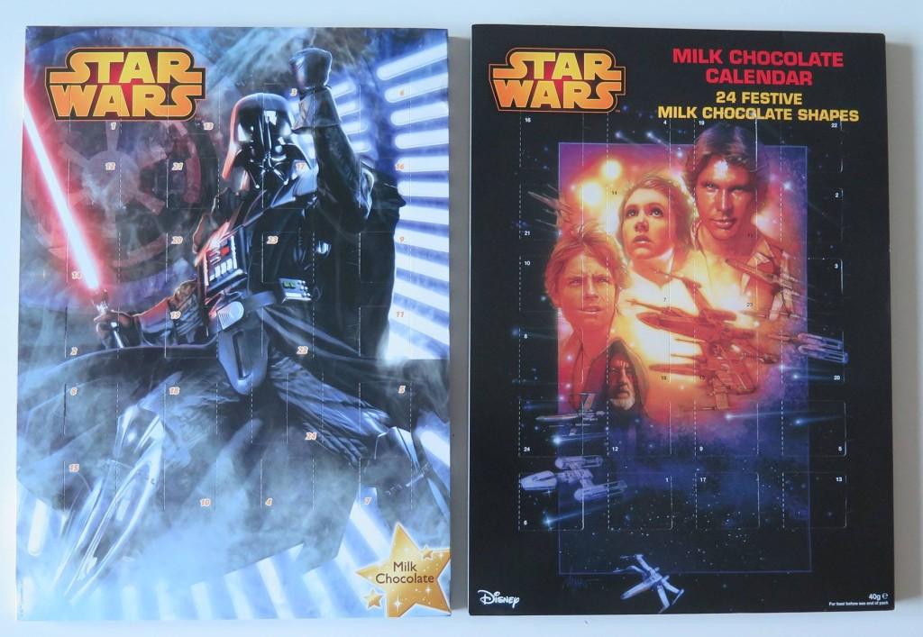 Star Wars-chokladkalendrar