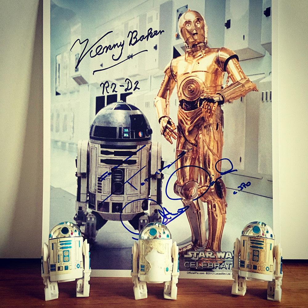 Vila i frid Kenny Baker - R2-D2