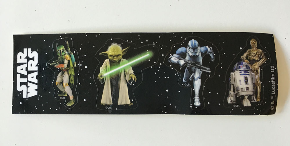 Star Wars-klistermärken