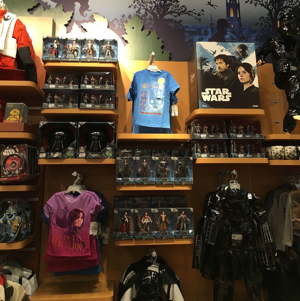 Rogue One-leksaker i Disney Store